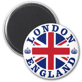 Diseño BRITÁNICO del vintage de Londres Imán
