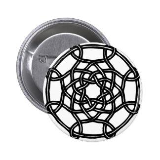 Diseño céltico - nudo redondo básico pin