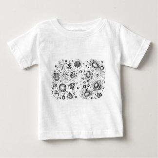 Diseño celular camiseta de bebé