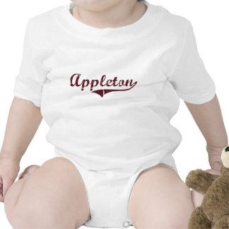 Diseño clásico de Appleton Minnesota Traje De Bebé