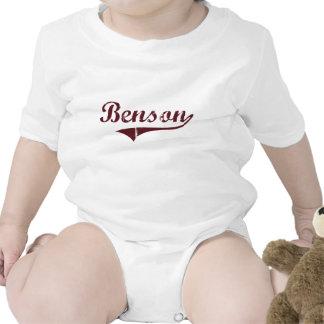 Diseño clásico de Benson Minnesota Traje De Bebé
