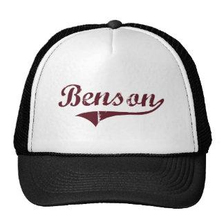 Diseño clásico de Benson Minnesota Gorros