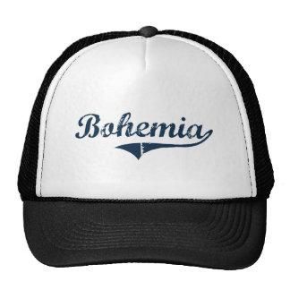 Diseño clásico de Bohemia Nueva York Gorras De Camionero