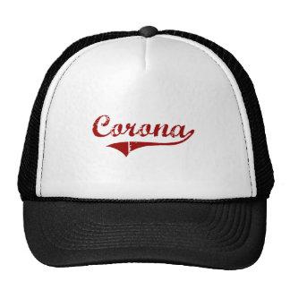 Diseño clásico de California de la corona Gorras De Camionero