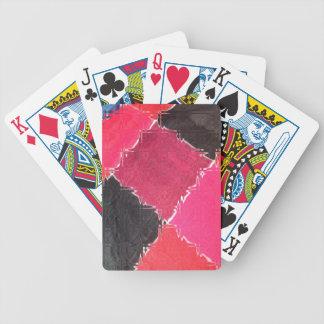 diseño colorido barajas de cartas
