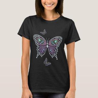 Diseño colorido de la camiseta de Butterflys del