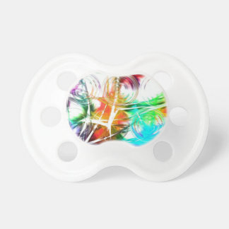 Diseño colorido de la estrella chupetes