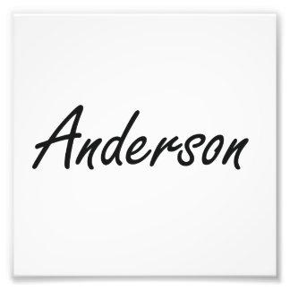 Diseño conocido artístico de Anderson Arte Con Fotos