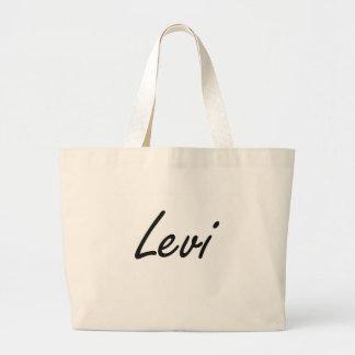 Diseño conocido artístico de Levi Bolsa Tela Grande