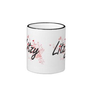 Diseño conocido artístico de Litzy con los Taza De Dos Colores
