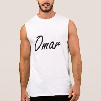 Diseño conocido artístico de Omar Camisetas Sin Mangas