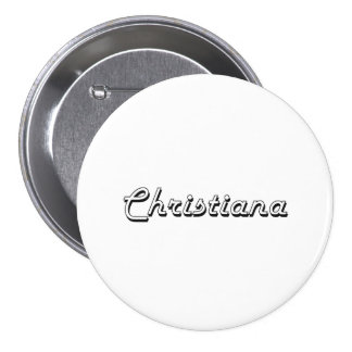 Diseño conocido retro clásico de Christiana Chapa Redonda 7 Cm