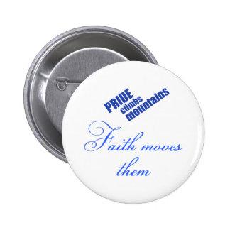 diseño cristiano de las fe-movimiento-montañas pin