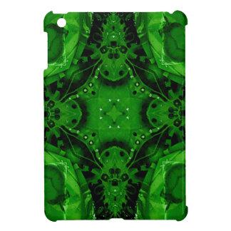 Diseño cruciforme profundo del verde esmeralda