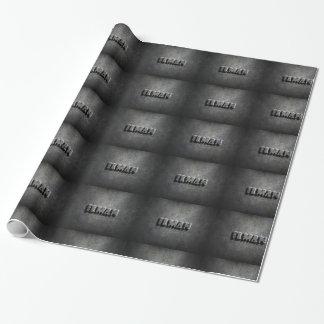 diseño de acero brillante del fondo del papel de