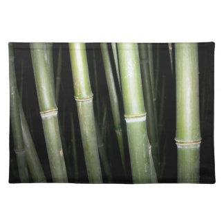 Diseño de bambú Placemat Mantel
