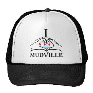 diseño de Chicago del mudville Gorro