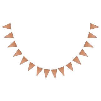Diseño de cobre de las rayas banderines