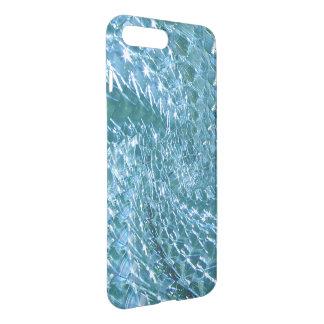 Diseño de cristal Crackled del remolino - Topaz Funda Para iPhone 7 Plus