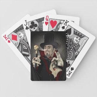 Diseño de Drácula de la cuenta Baraja De Cartas