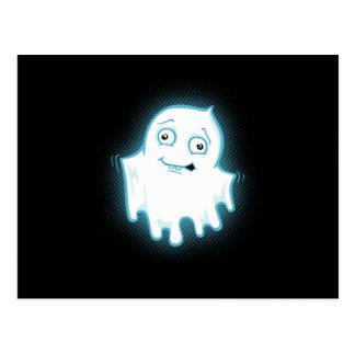 Diseño de Halloween del fantasma de Lil Postal