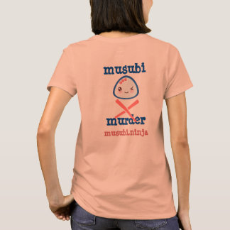 Diseño de Kawaii del asesinato de Musubi Camiseta