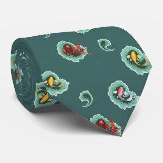 Diseño de Koi Paisley del trullo Corbatas Personalizadas