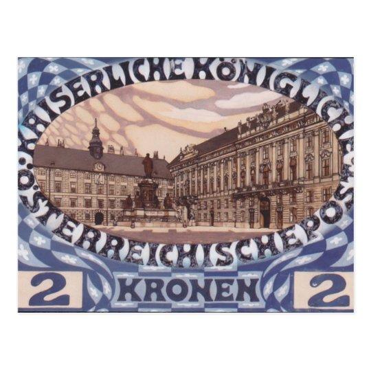 Diseño de Koloman Moser- para el sello austríaco Postal
