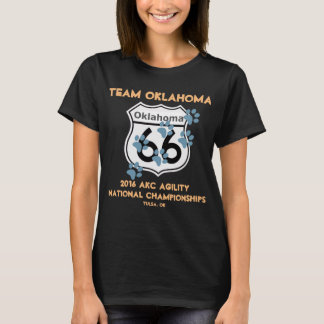 Diseño de la agilidad de Oklahoma del equipo para Camiseta