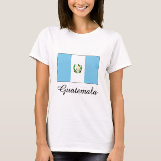 Diseño de la bandera de Guatemala Camiseta