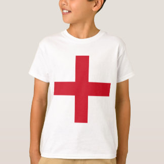 Diseño de la bandera de Inglaterra Camiseta
