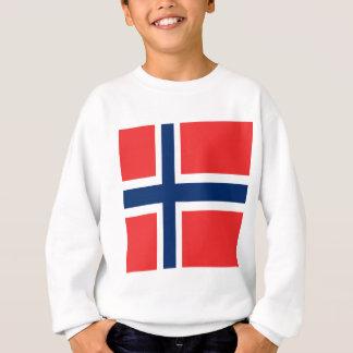 Diseño de la bandera de Noruega en producto Sudadera