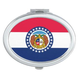 Diseño de la bandera del estado de Missouri Espejo Para El Bolso