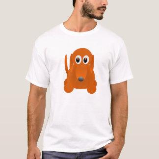 Diseño de la camisa del perro de salchicha