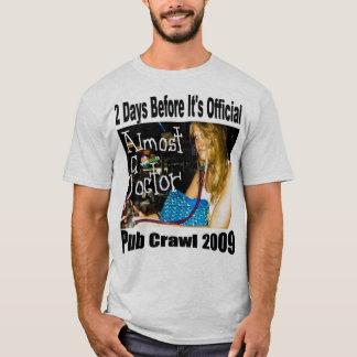 diseño de la camiseta del arrastre de pub