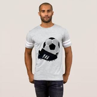 Diseño de la camiseta del fútbol