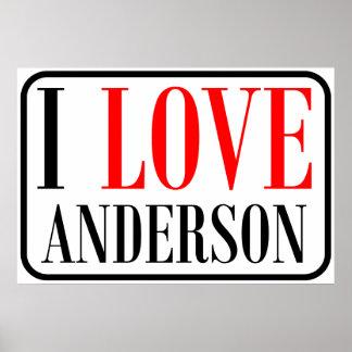 Diseño de la ciudad de Anderson Alabama Impresiones