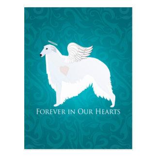 Diseño de la condolencia de la pérdida del mascota postal