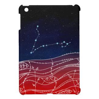 Diseño de la constelación de Piscis