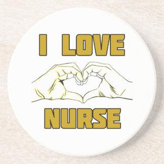 diseño de la enfermera posavasos