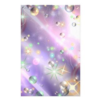 Diseño de la estrella folleto 14 x 21,6 cm