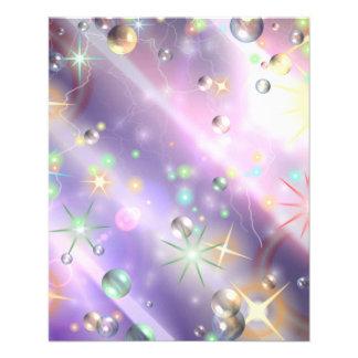 Diseño de la estrella folleto 11,4 x 14,2 cm