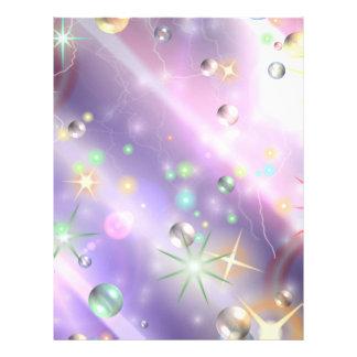 Diseño de la estrella folleto 21,6 x 28 cm