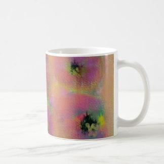 Diseño de la fruta tazas de café
