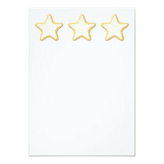 Diseño de la galleta de la estrella anuncios personalizados