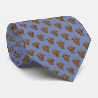 Diseño de la galleta de perro corbata personalizada
