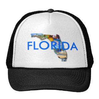 DISEÑO DE LA IMAGEN DE LA FLORIDA GORRO