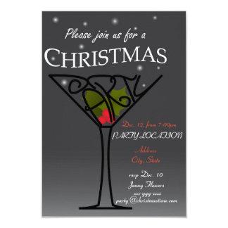 Diseño de la invitación de la fiesta de Navidad