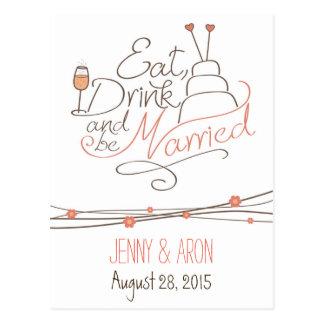 Diseño de la invitación del boda