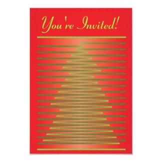 Diseño de la invitación del navidad